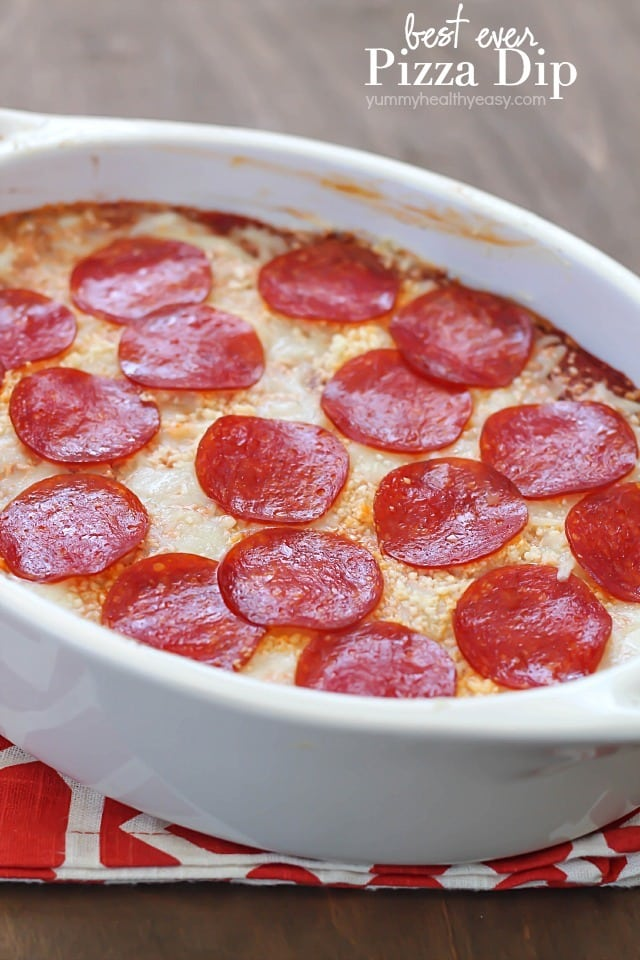 Best Ever Pizza Dip